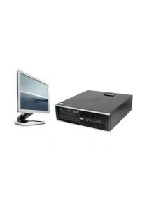 (Refurbished) HP Compaq Elite 8200 (SFF) Desktop PC + 17