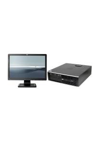 (Refurbished) HP Compaq Elite 8200 (SFF) Desktop PC + 19