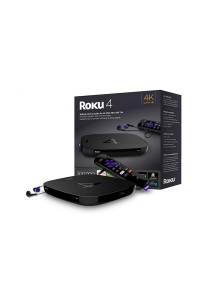 Roku 4 Streaming Media Player (Black)