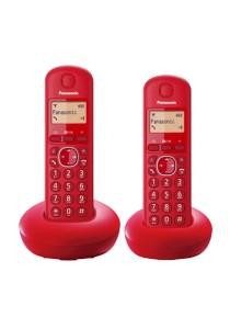 Panasonic Digital Cordless Phone KX-TGB212MLR (Red)