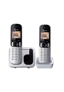 Panasonic Digital Cordless Phone With 2 Handsets KX-TGC212MLS