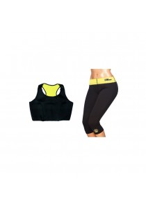 Thermal Slimming Workout Pants And Bra