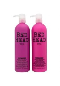 Tigi Bed Head Superfuel Recharge High-Octane Shine Shampoo + Conditional (Twin Set) 750ml
