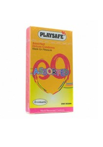 PLAYSAFE Assorted Coloured 12's
