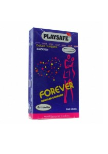 PLAYSAFE Fit-Tex Forever Condom 12's