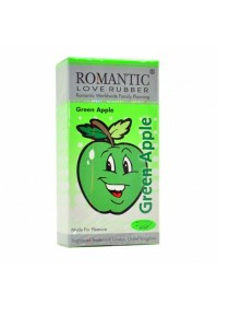 Romantic Love Rubber Aroma Green Apple 12's