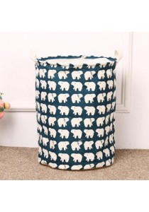 Foldable Pop Up Laundry Hamper Washing Bag with Handle