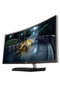 "AOC C3583FQ 35"" LED Monitor - 5ms/1920x1080/VGA/DVI/HDMI/DP/3 Years on-site Warranty"