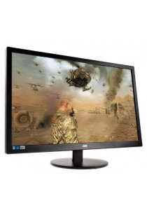 """AOC M2470Swh 23.6"""" LED Monitor - 5ms/1920x1080/VGA/HDMIx2/3 Years on-site Warranty"""