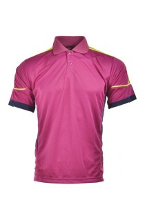 Microfibre Polo T Shirt TN 08 01 (Purple)