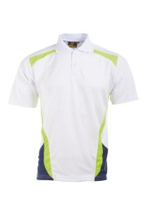 Microfibre Polo T Shirt TN 09 01 (White)