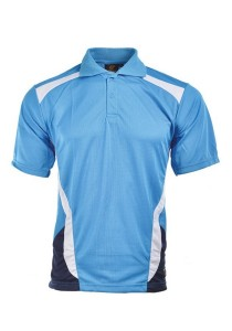 Microfibre Polo T Shirt TN 09 02 (Sea Blue)