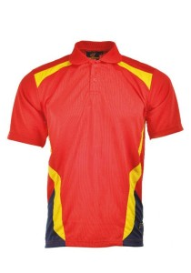 Microfibre Polo T Shirt TN 09 03 (Red)