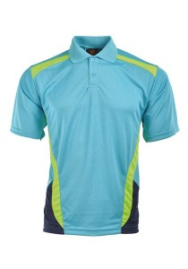 Microfibre Polo T Shirt TN 09 04 (Mint)