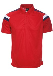 Microfibre Polo T Shirt TN 10 01 (Red)