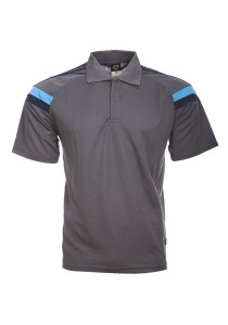 Microfibre Polo T Shirt TN 10 04 (Charcoal)