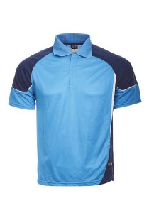 Microfibre Polo T Shirt TN 11 01 (Sea Blue)