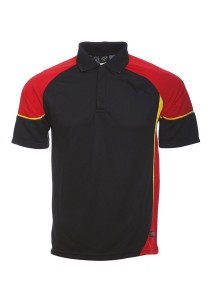 Microfibre Polo T Shirt TN 11 02 (Black)