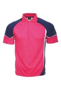 Microfibre Polo T Shirt TN 11 03 (Magenta)