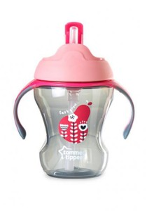 Tommee Tippee Easy Drink Straw Cup 44701538 Pink
