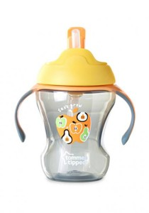 Tommee Tippee Easy Drink Straw Cup 44701738 Orange