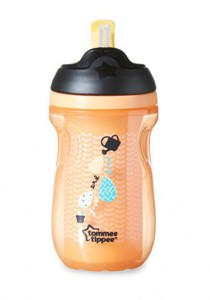 Tommee Tippee Insulated Straw Cup 44702738 Orange