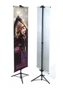T Banner Stand Easy Install for Trade Show / Store Display