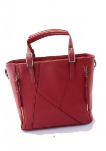 Papillon Tote Stitch Bag BG-150043(Red)