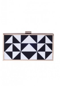 Papillon Clutch - Houndstooth PC-150069