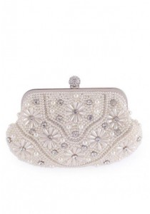 Papillon Clutch - Luxury Pearl PC-150072