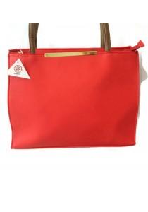 Tote Bag With Metal Bar VIVI-001