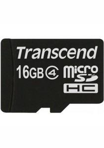 Transcend 16GB MicroSD Micro SD Memory Card