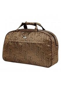 Travel Star 688 Large Capacity Duffle Travel Bag- Alphabet Design