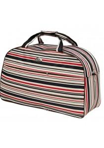 Travel Star 688 Large Capacity Duffle Travel Bag- Multi Strip Design