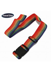 Travel Star Adjustable Length Luggage Strap With Buckle