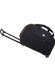 TRAVEL STAR Large Capacity Duffel Travel Bag With Trolley - Design 1