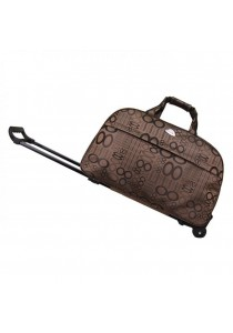 TRAVEL STAR Large Capacity Duffel Travel Bag With Trolley- Design 2