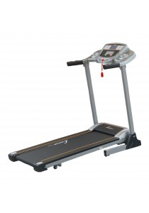 Lexcon Motorized Folding Treadmill Running Machine with Body Fat Test (Grey)