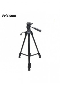 Proocam TRP-3720 Professional Tripod for Camera Mobile DSLR and Videocam