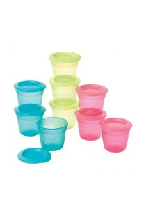 Pack of 3 Tommee Tippee Essential Food Pots