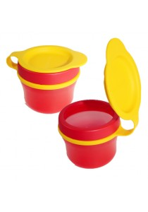 Tupperware Snack Cups 2x150ml