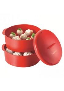 Tupperware Steam It (1) - 2 Layer - Red