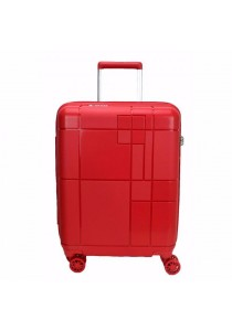"Echolac PW003 PP Monogram Spinner Case Luggage 20"" (Red)"