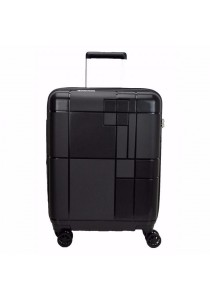 "Echolac PW003 PP Monogram Spinner Case Luggage 24"" (Black)"