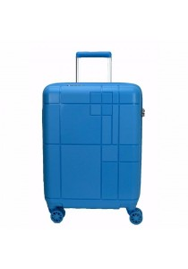 "Echolac PW003 PP Monogram Spinner Case Luggage 24"" (Blue)"