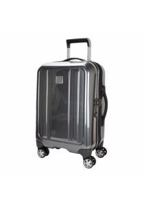 "Eminent KF29 Polycarbonate Spinner Case Luggage 28"" (Grey)"