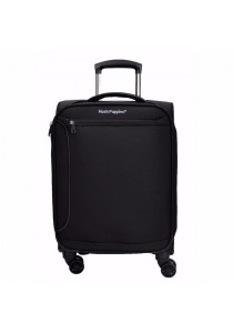 "Hush Puppies 693134 Expandable Soft Spinner Case Luggage 19"" (Black)"