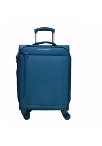 "Hush Puppies 693134 Expandable Soft Spinner Case Luggage 19"" (Blue)"