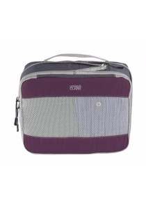 Lewis N. Clark 1840 Featherlight Expandable Packing Cube Medium (Plum)