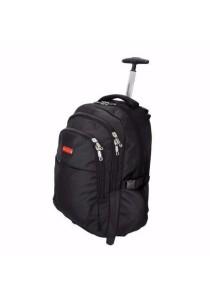 Slazenger SZ1095-L Backpack Bag with Trolley Large (Black)